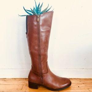 Franco Sarto Christina Leather Riding Boots